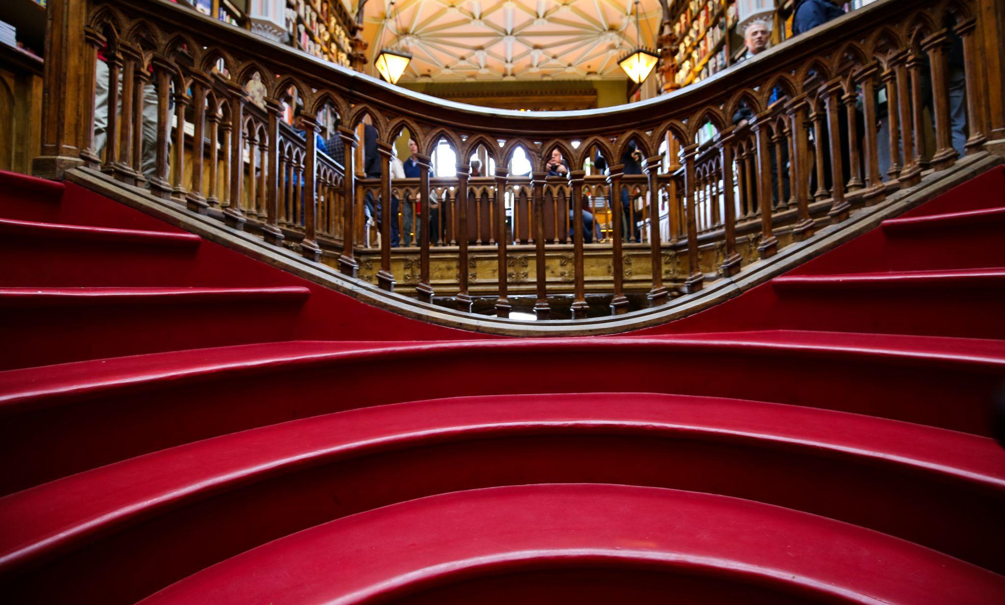 Livraria Lello, Staircase, Portugal