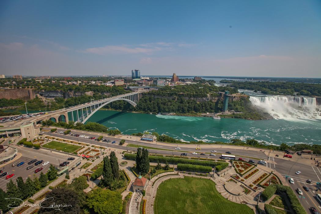 Niagara Falls & Rainbow bridge, Canada