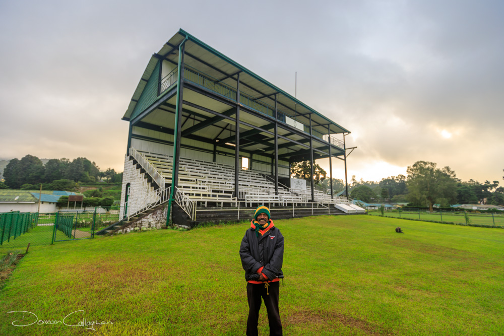 Nuwara Eliya Race Course Ground Grand Stand, Sri Lanka