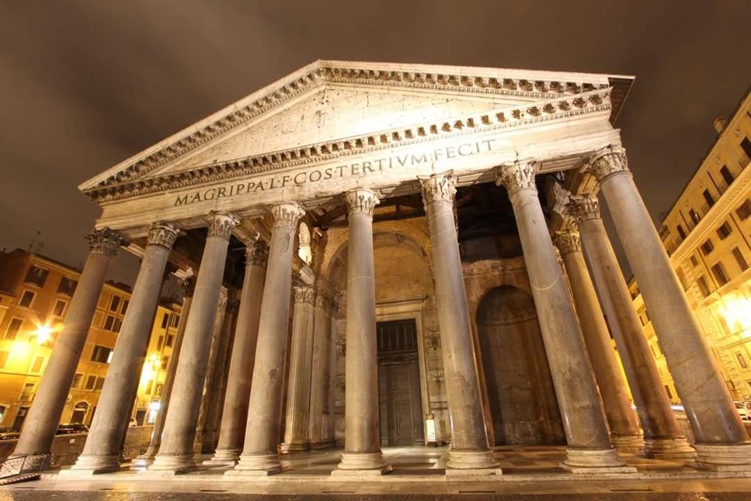 Pantheon at Midnight, Italy