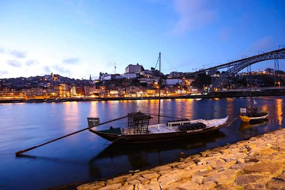Porto, Portugal at Night, Portugal