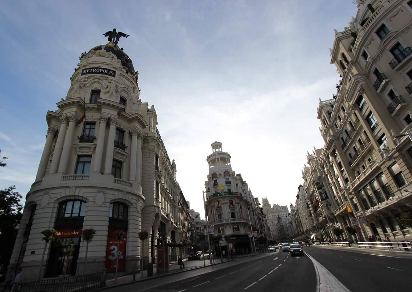 Streets of Madrid, Spain, Spain
