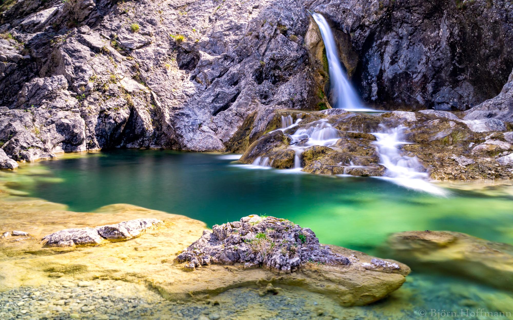 Stuibenfälle, Stuiben Waterfalls, Austria
