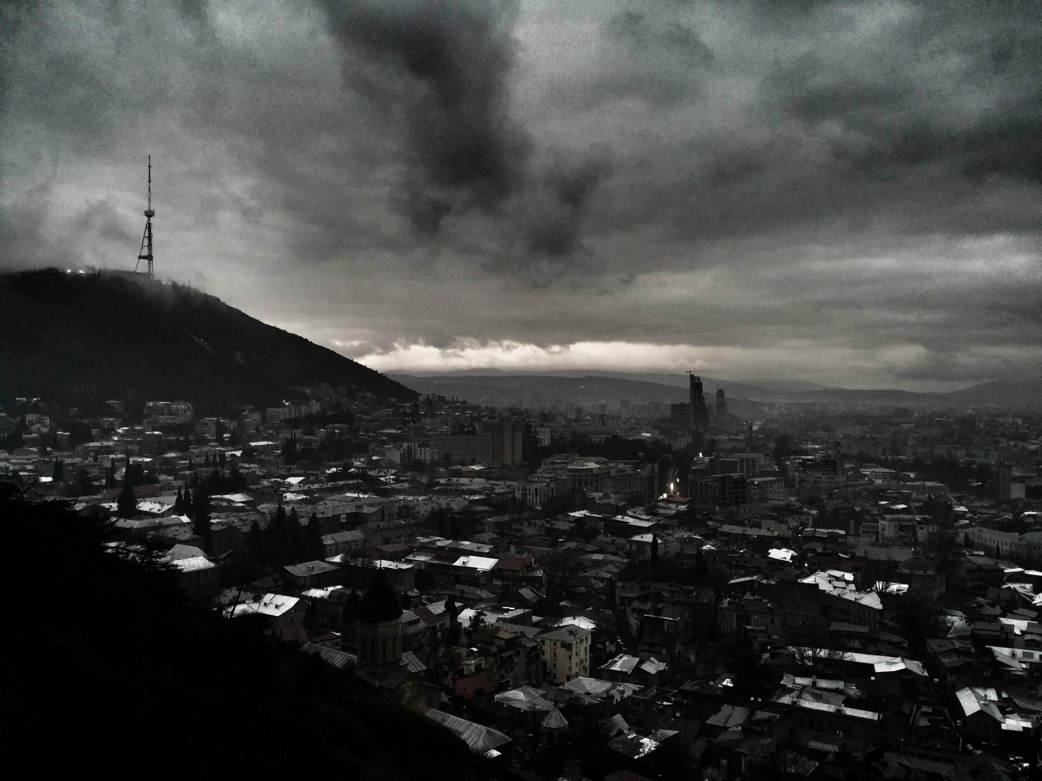 Tbilisi cityscape, Georgia