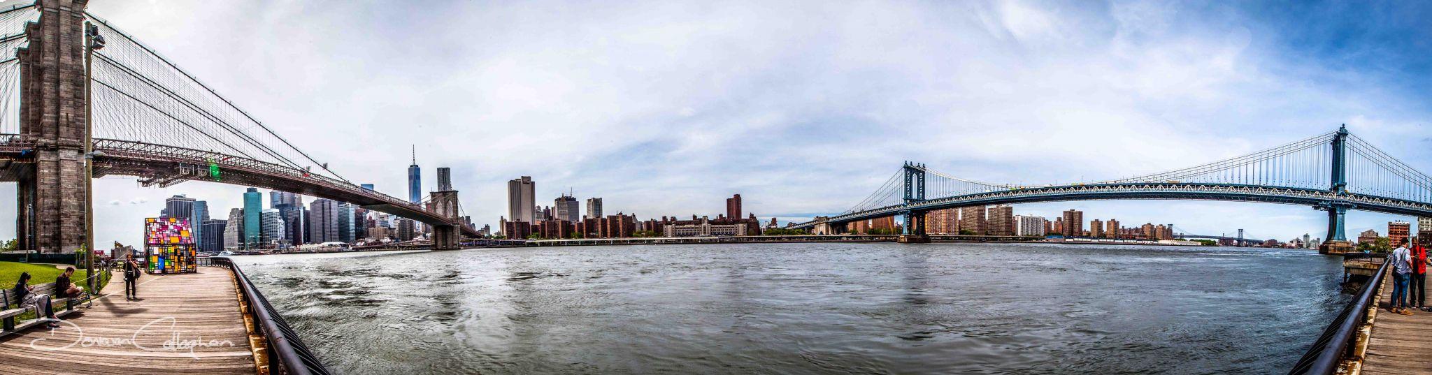 The Two Bridges Brooklyn, USA