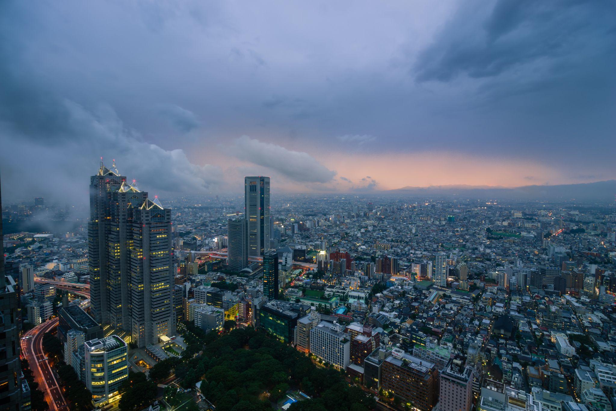 Tokio Cityscape View, Japan
