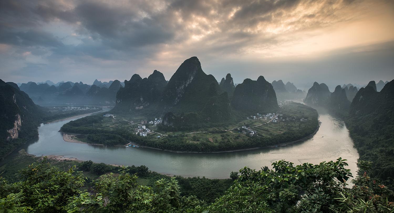 Xianggong hill, China