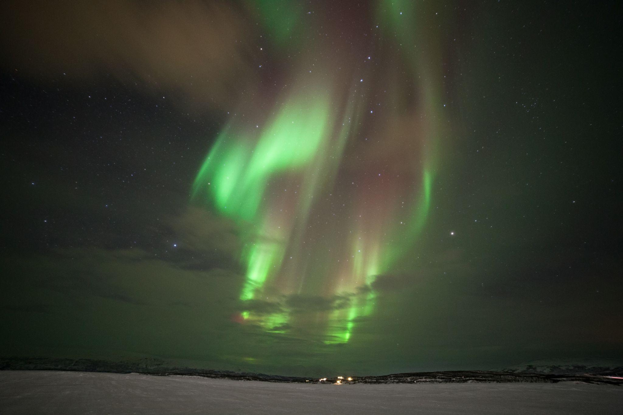 Abisko northern light, Sweden