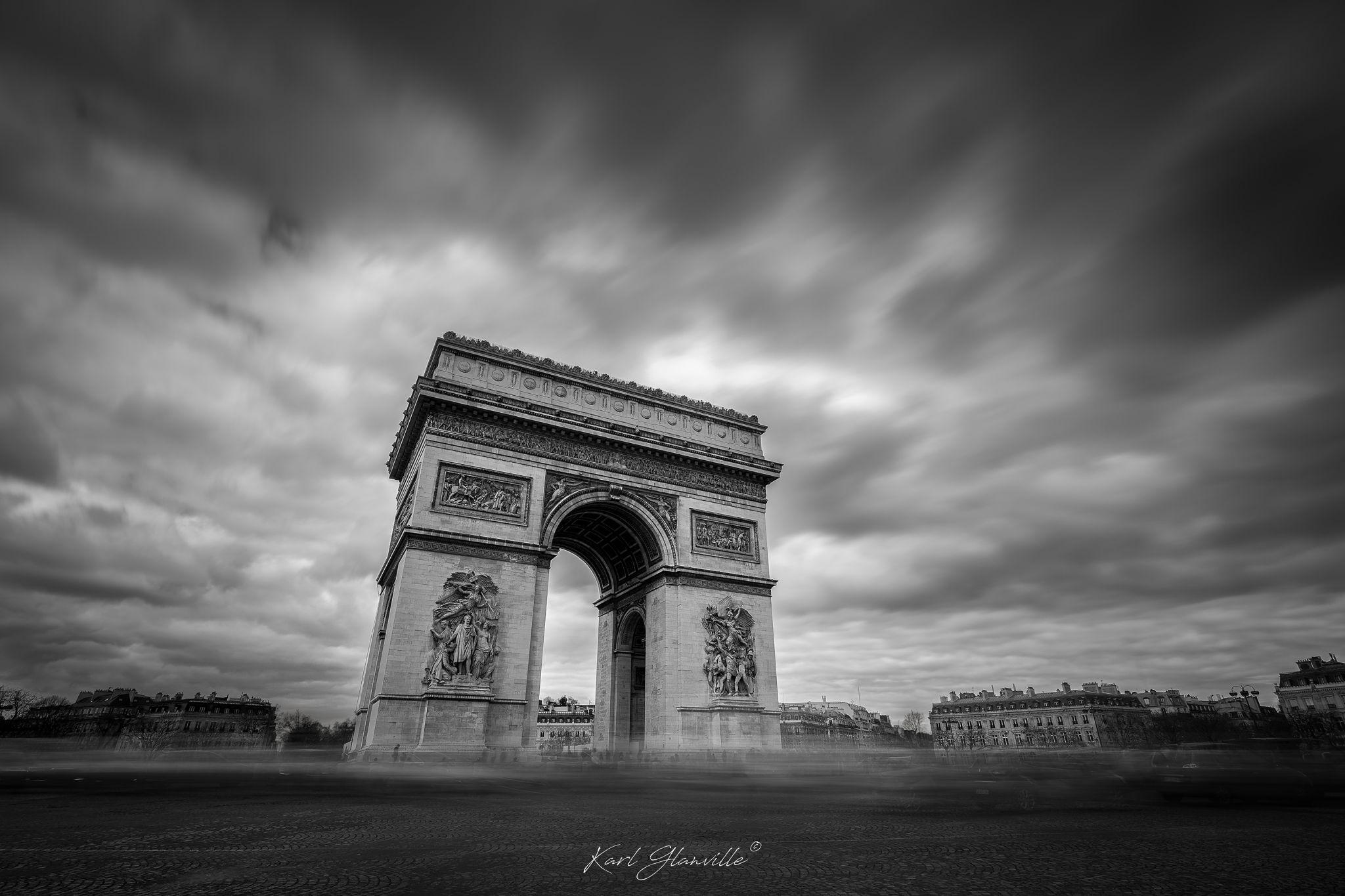 Arc De Triumphe, France