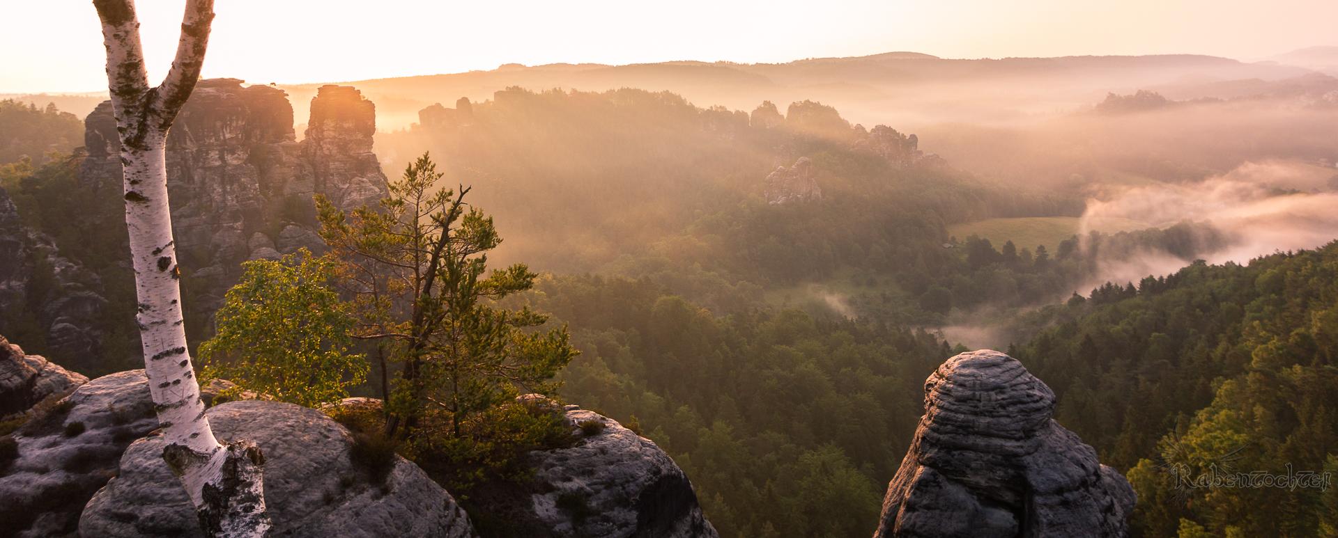 Bastei in Elbsandsteingebirge, Germany