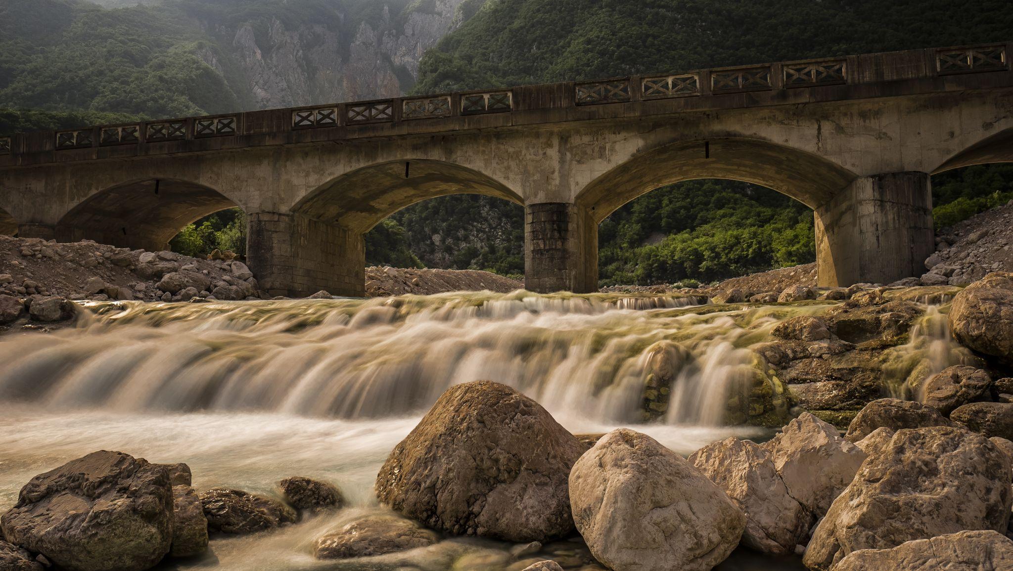 Bridge over Boka, Slovenia