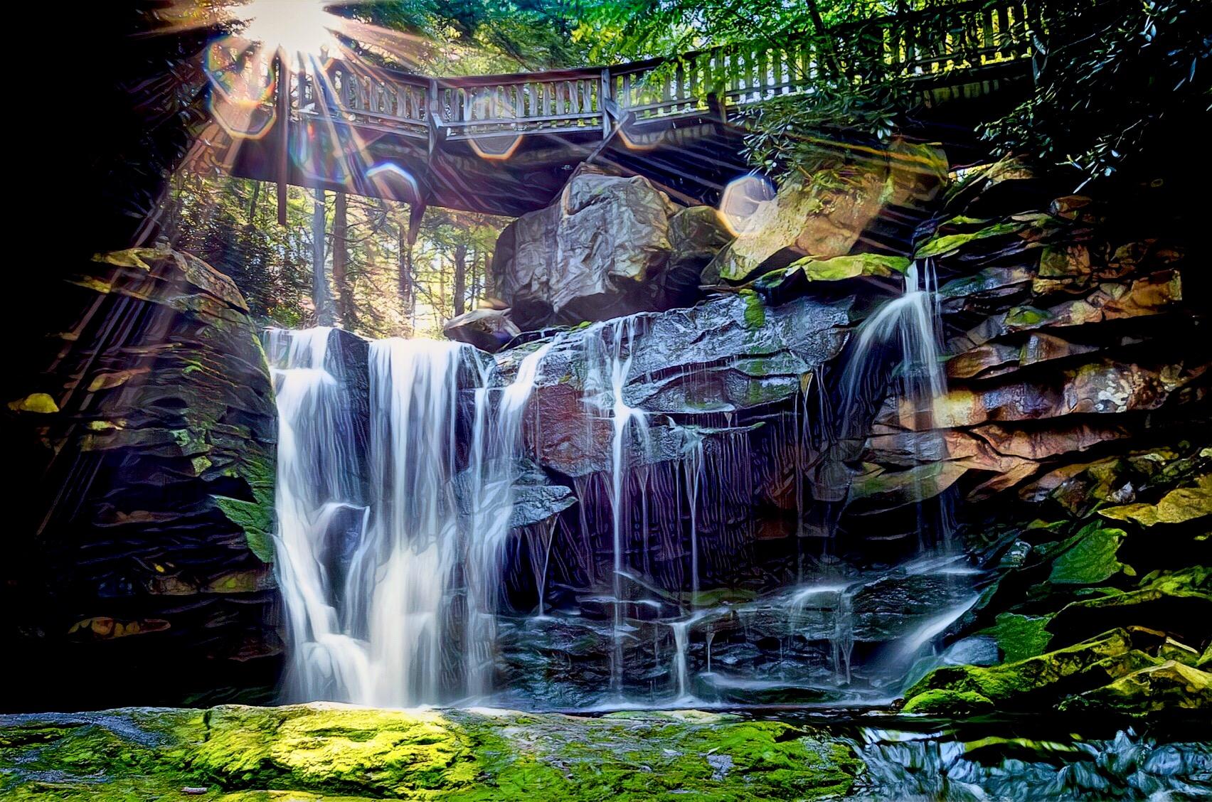 Elakala Falls, USA
