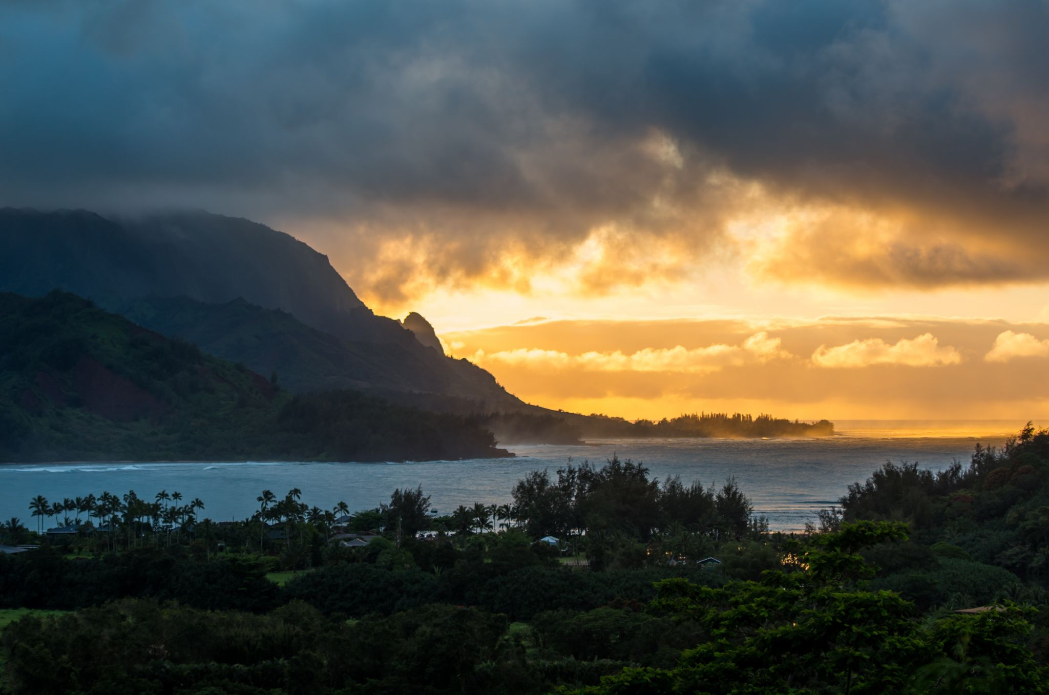 Hanalei Bay Lookout, USA