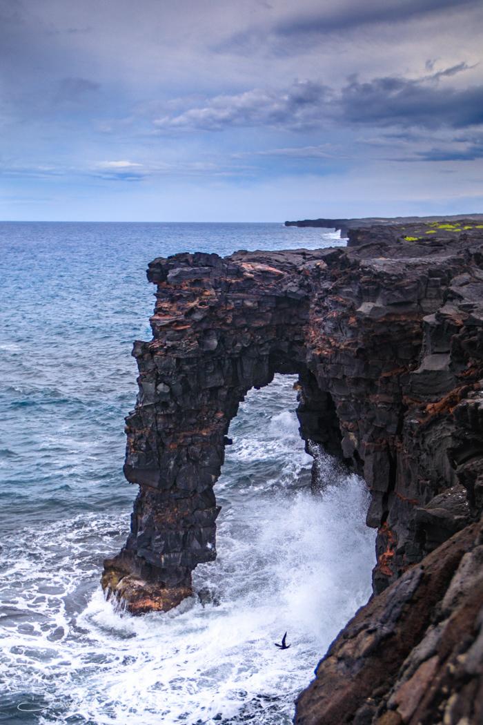 Holei Sea Arch Big Island Hawaii, USA