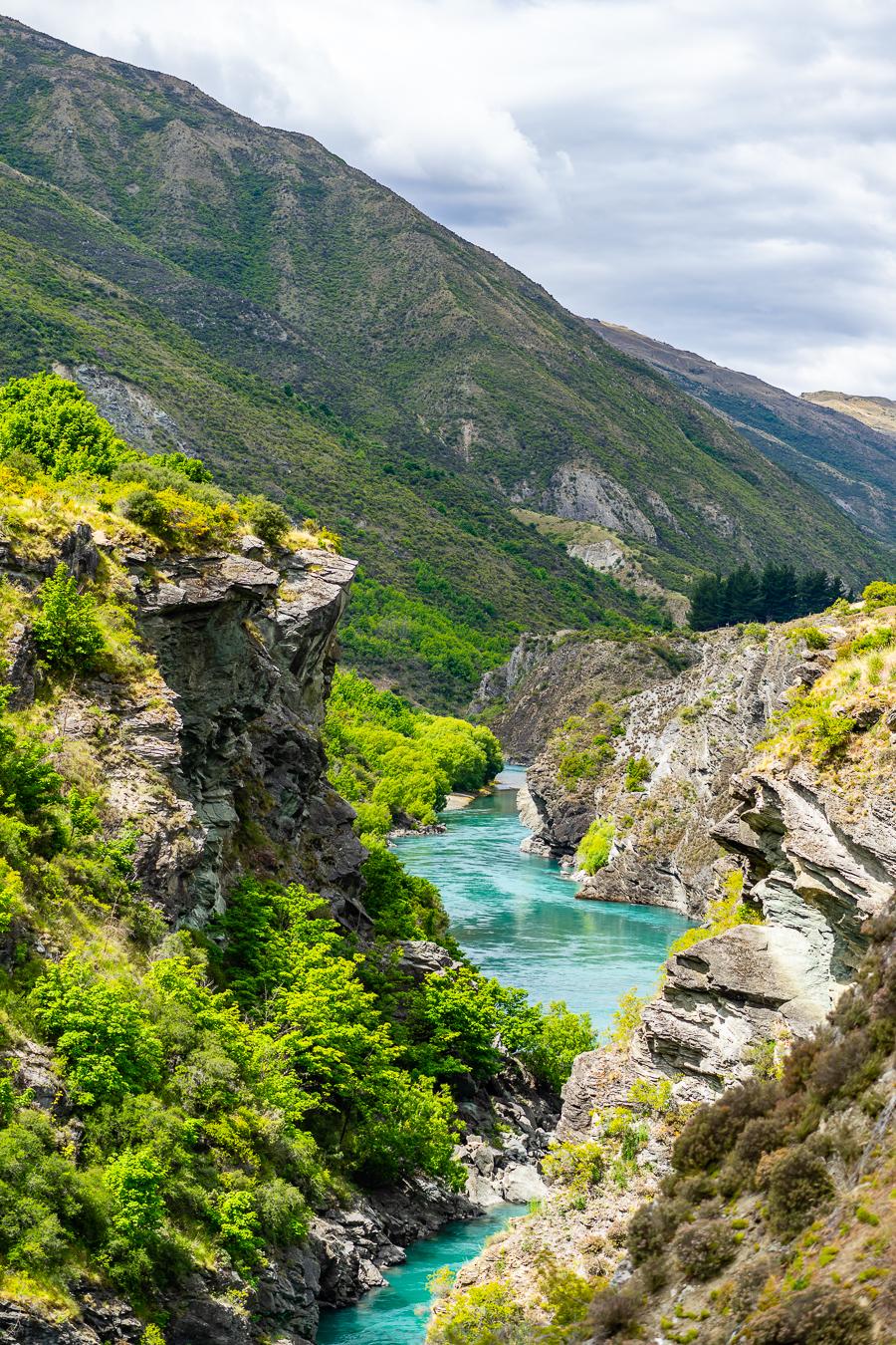 Kawarau Gorge, New Zealand