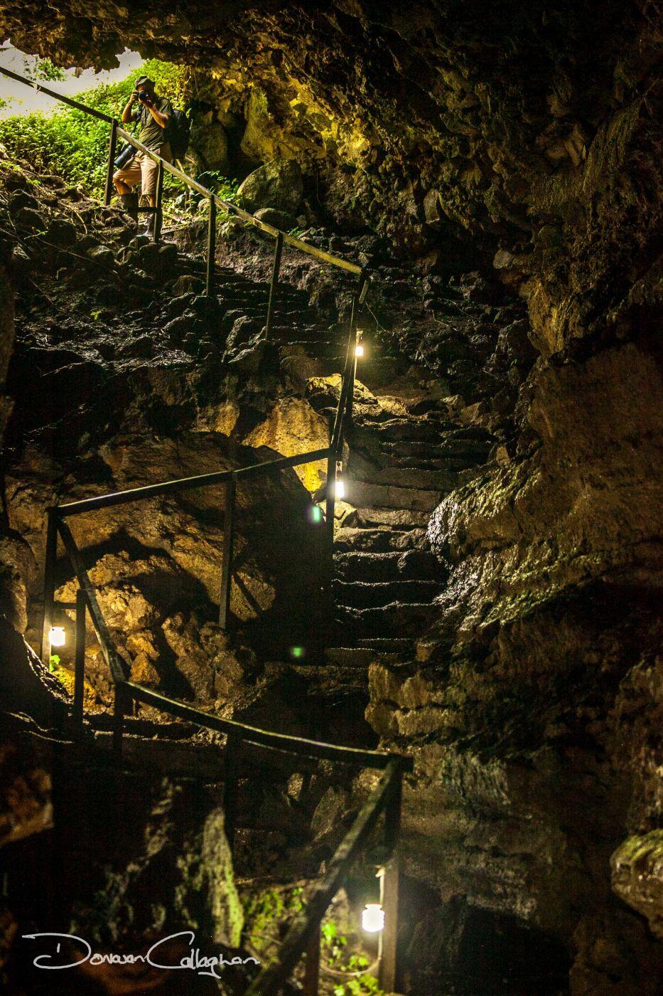 Lava Tube Cave Galapagos Islands, Ecuador