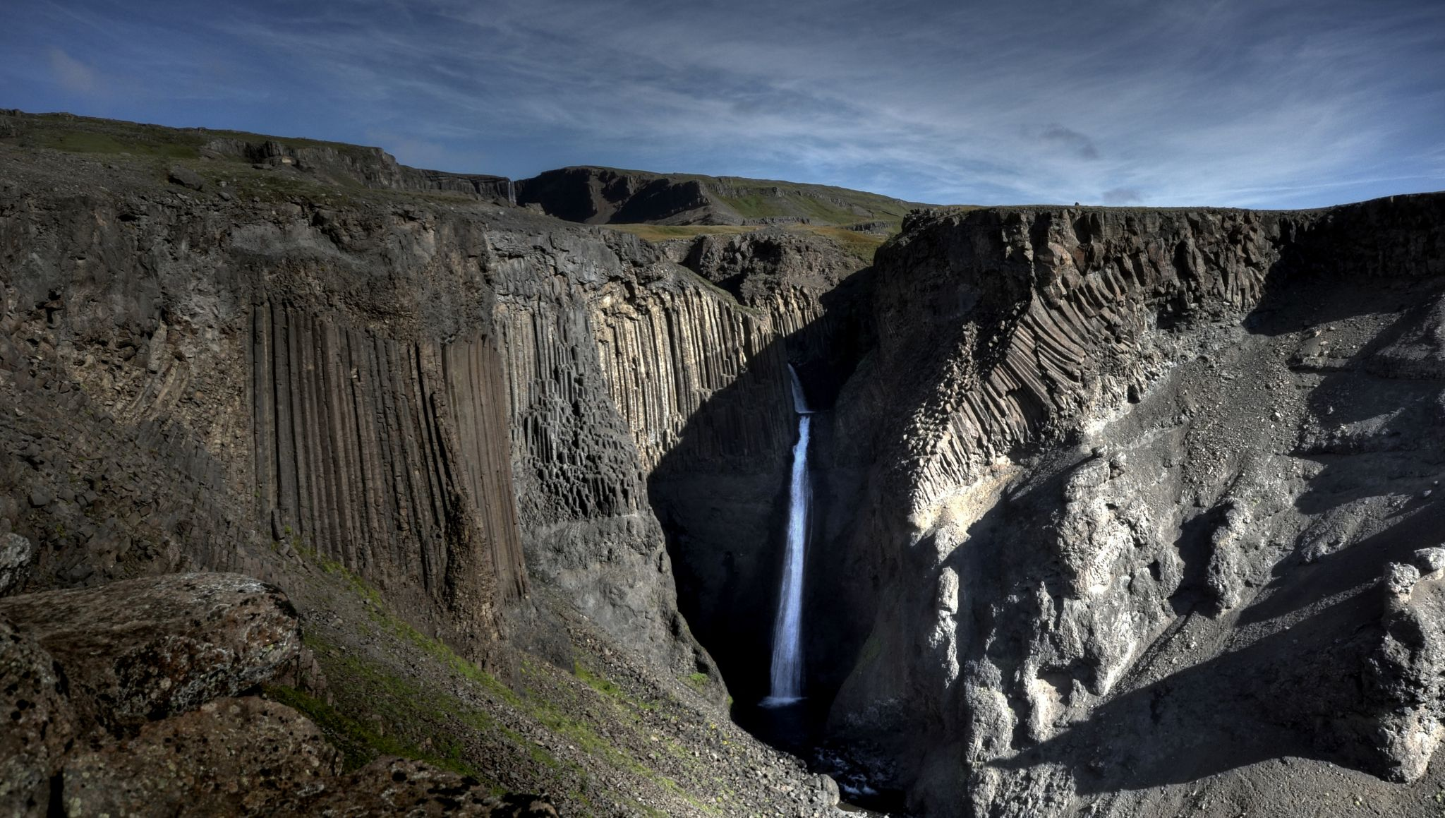 Litlanesfoss in Iceland, Iceland