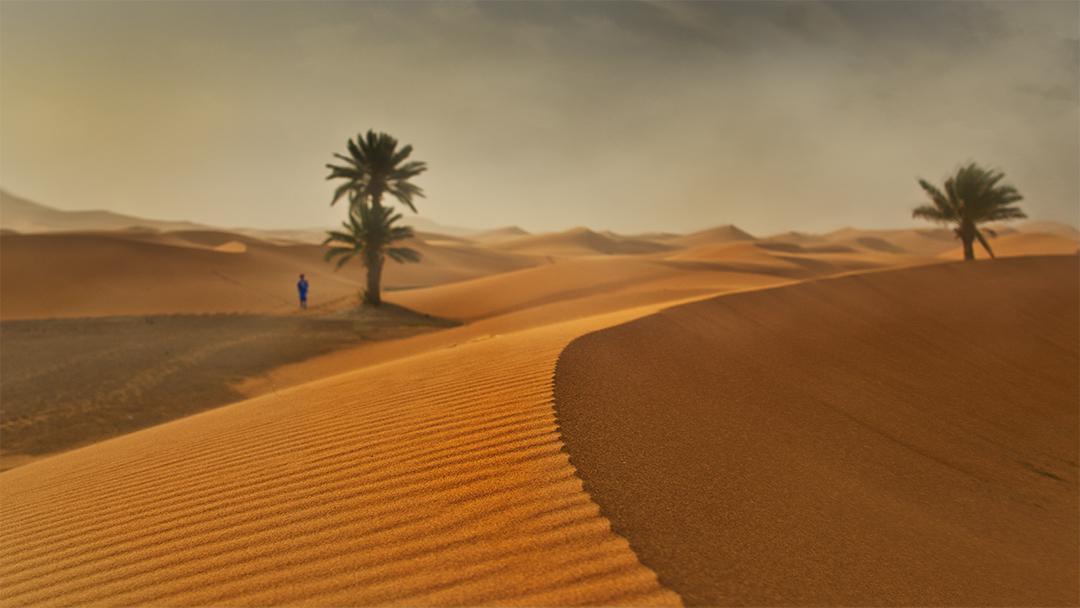 Merzouga - Dunes Erg Chebbi, Morocco