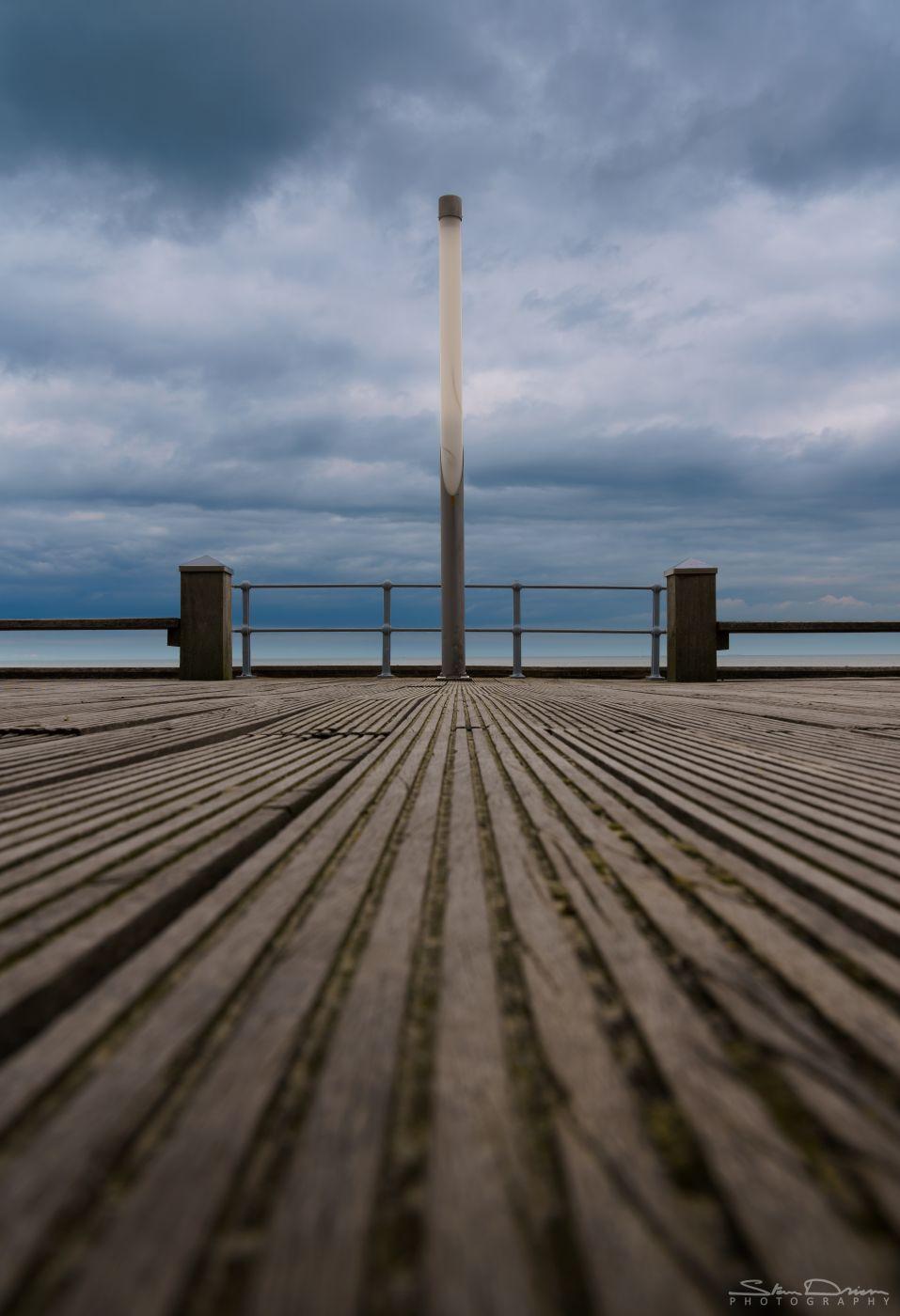 Oostende seawall, Belgium