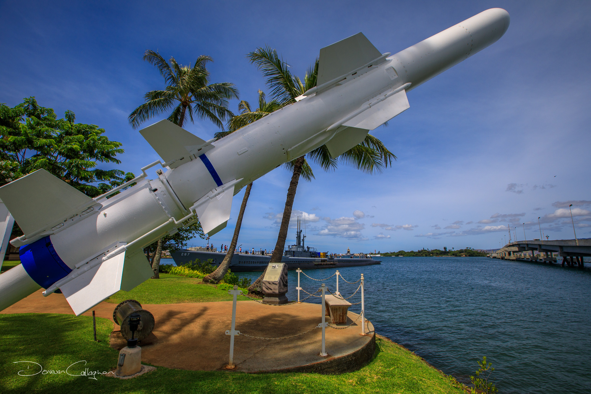 Pearl Harbour Military museum items Hawaii, USA