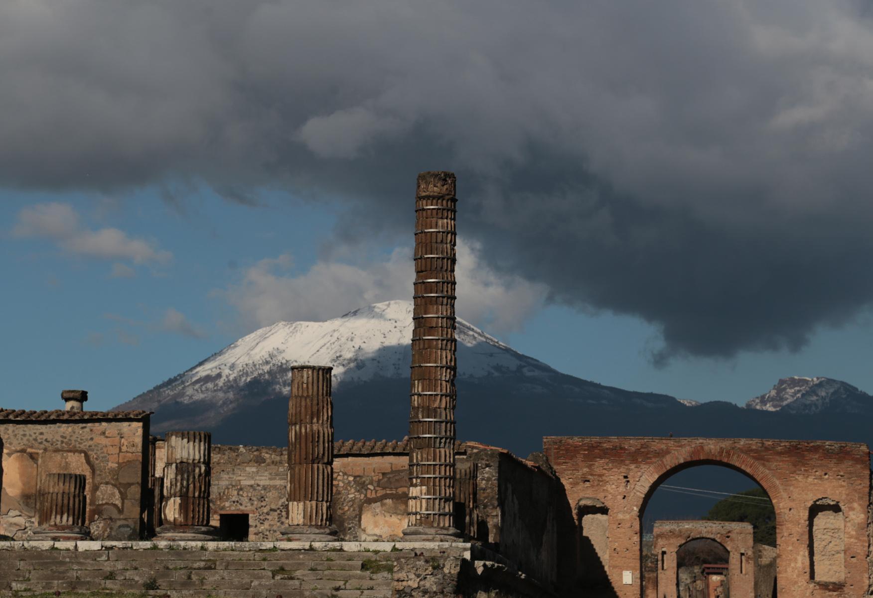 Pompei and Vesuvio, Italy