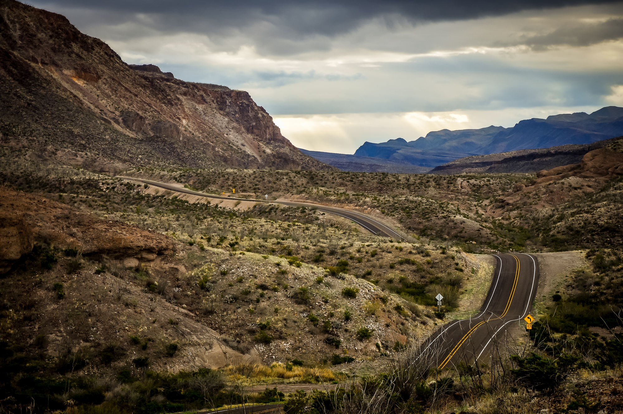 River Road - Big Bend Ranch State Park, USA