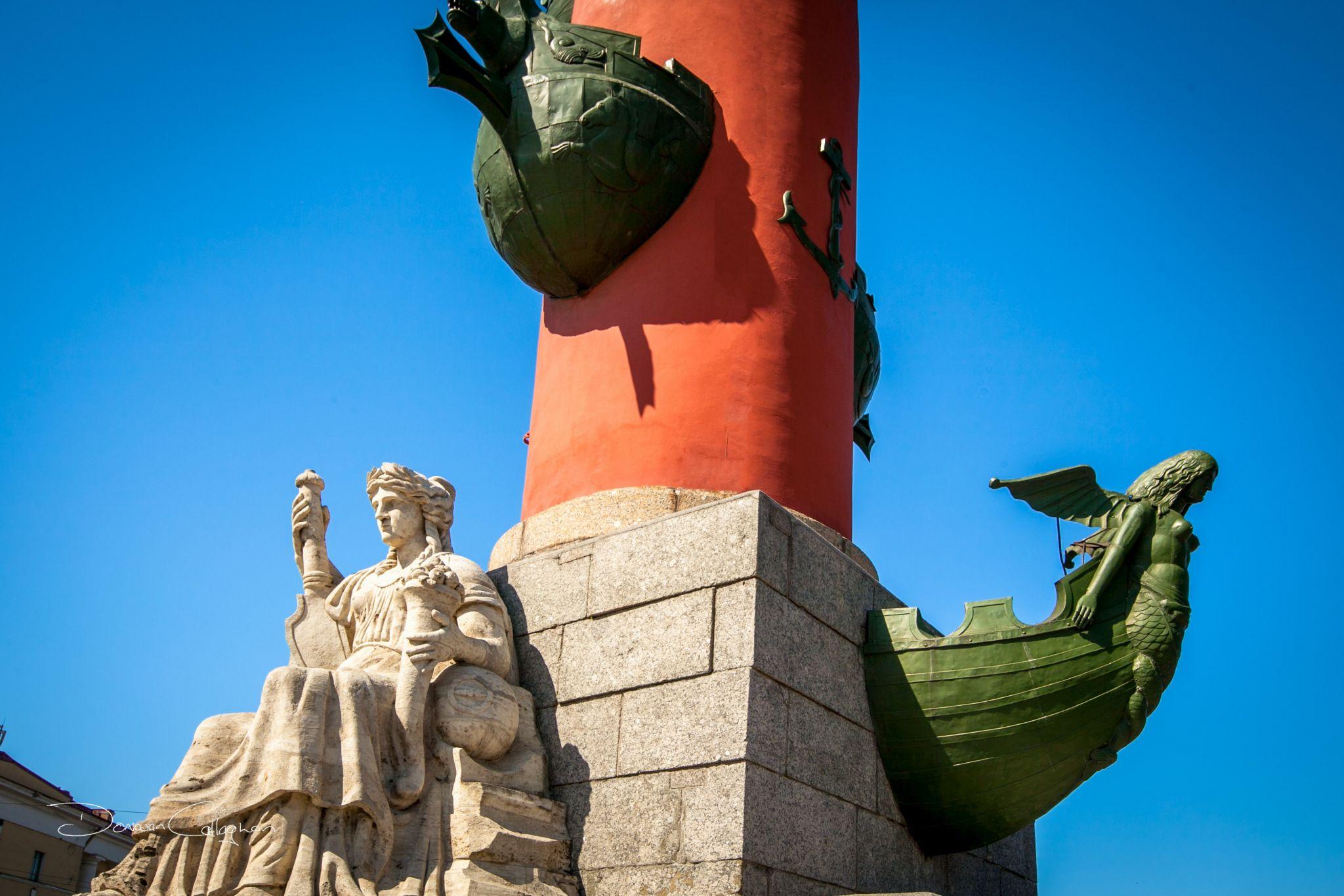 Rostral column St Petersburg, Russian Federation