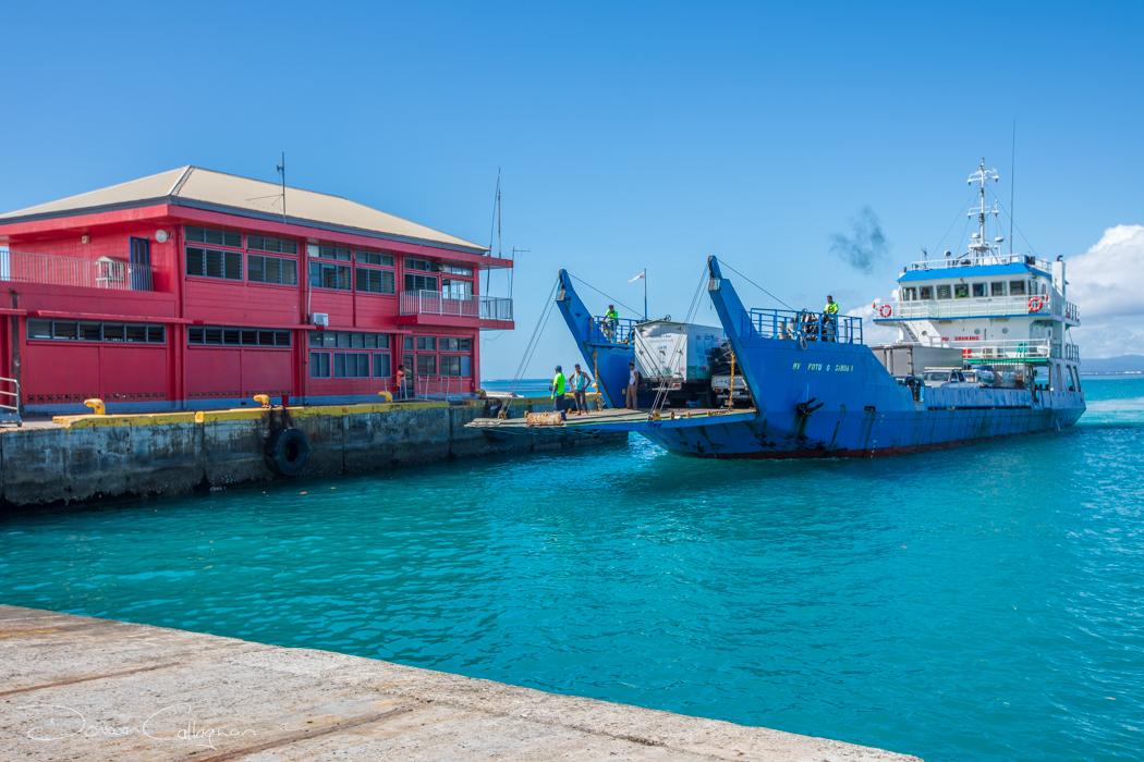 Salelologa Car Ferry from Savai'i to Upolu Samoa, Samoa