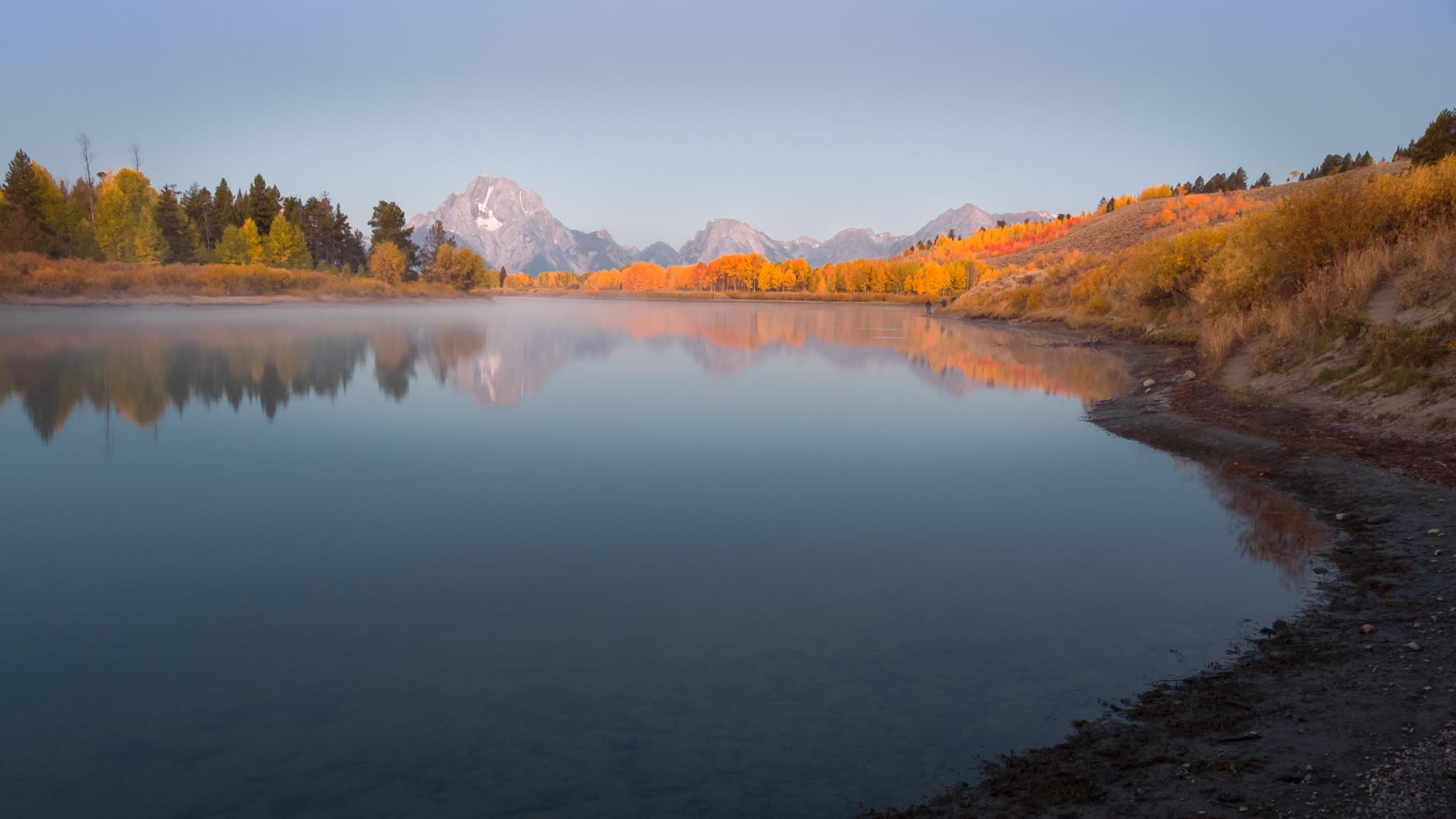 Snake River and Mount Moran, USA