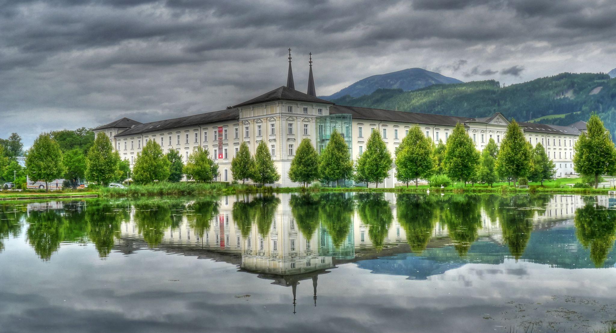 Stift Admont mit Bibliothek, Austria