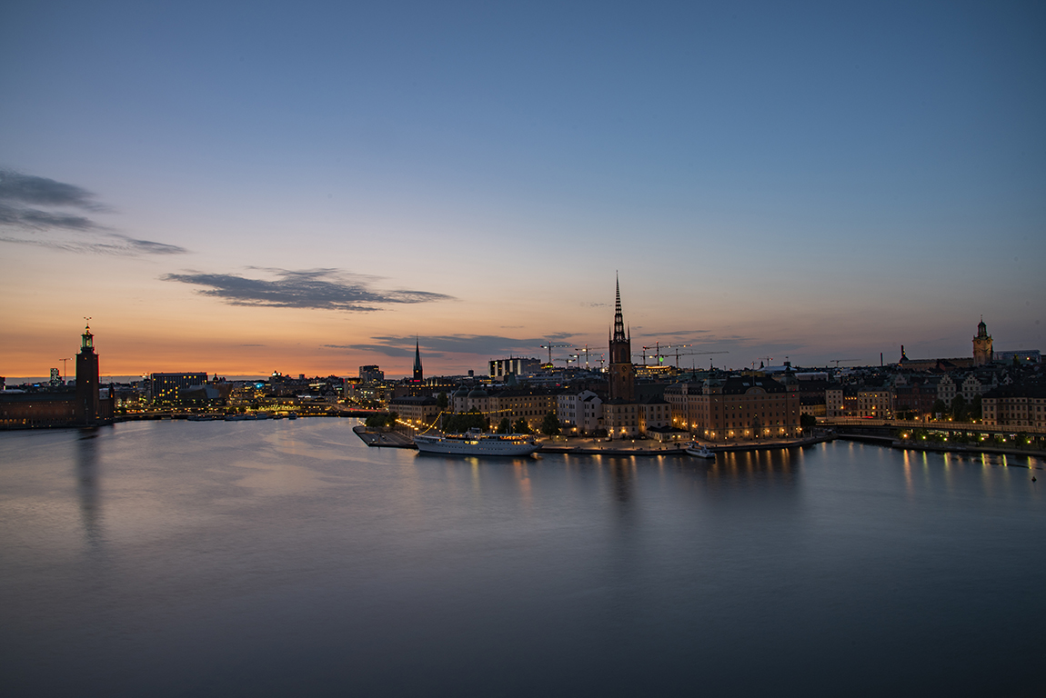 Stockholm at 11pm, Sweden