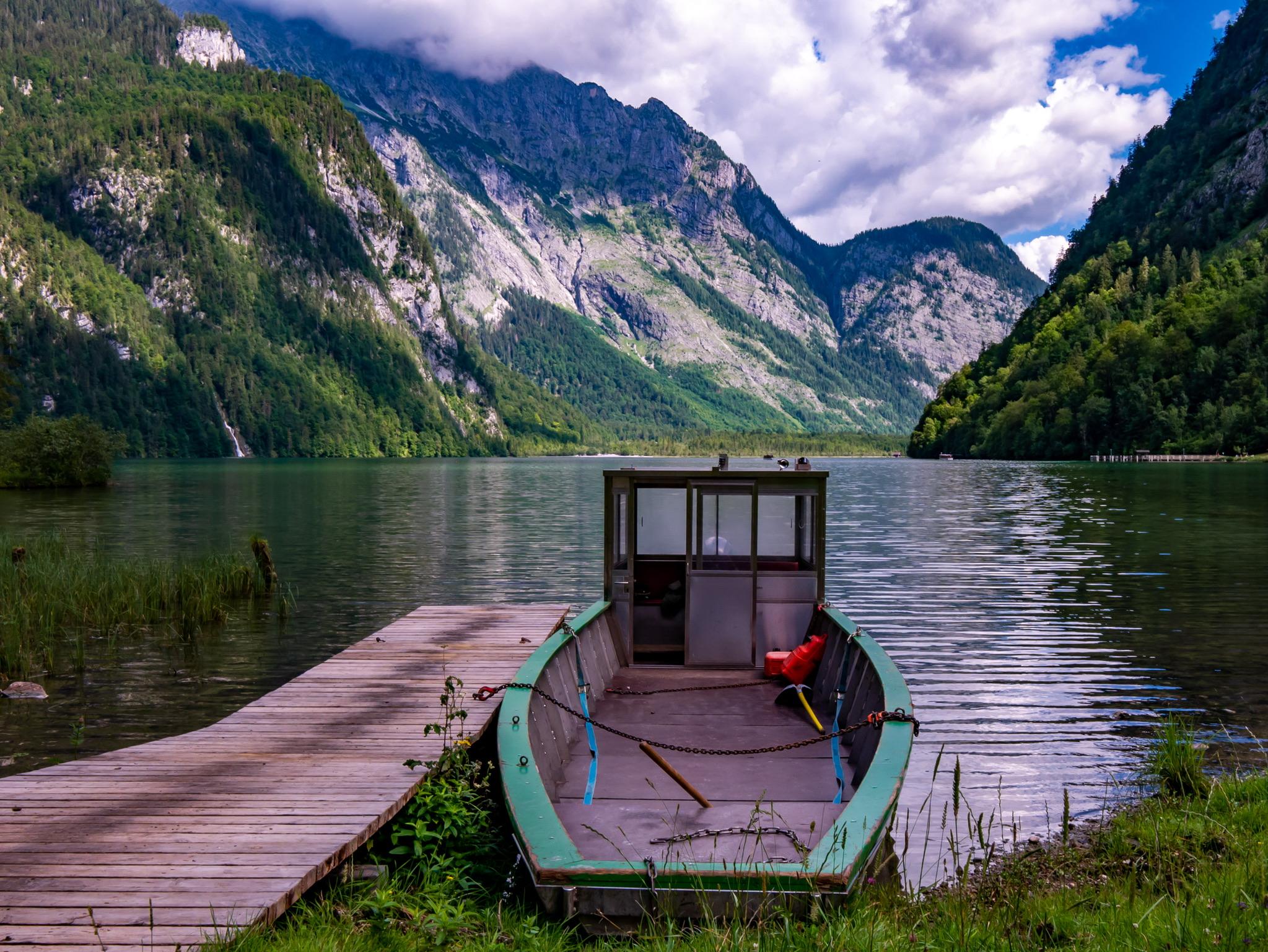südlicher Königssee, Bavaria, Germany
