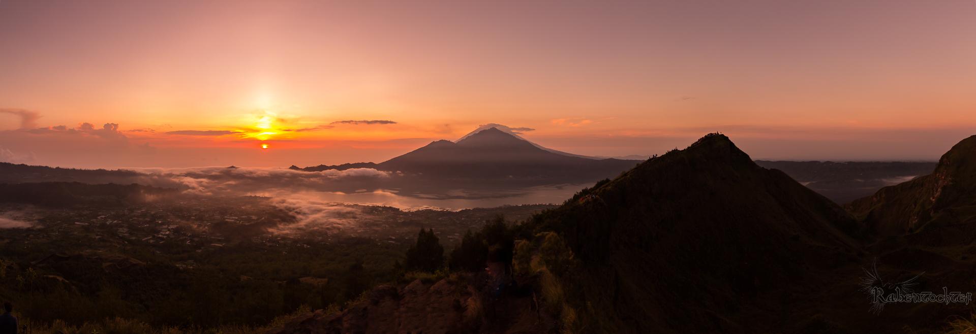 Sunrise at Mount Batur, Indonesia