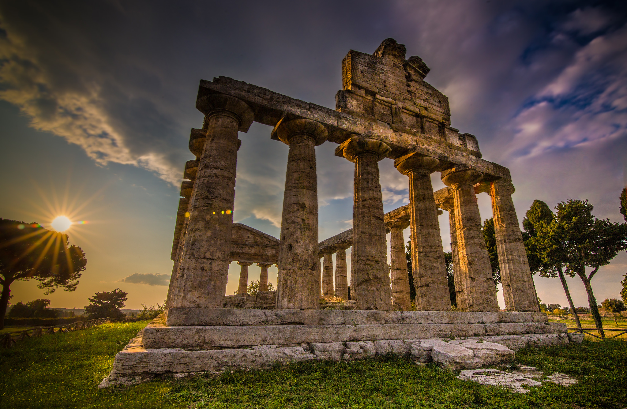 Temple of Athena, Italy