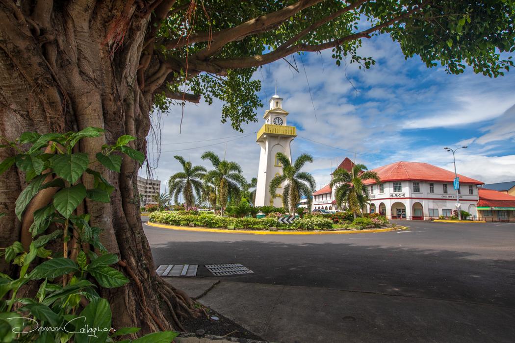 The Apia Clock Tower Samoa, Samoa