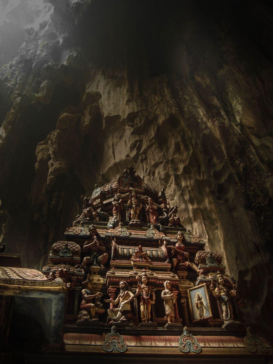 The Batu Caves, Malaysia