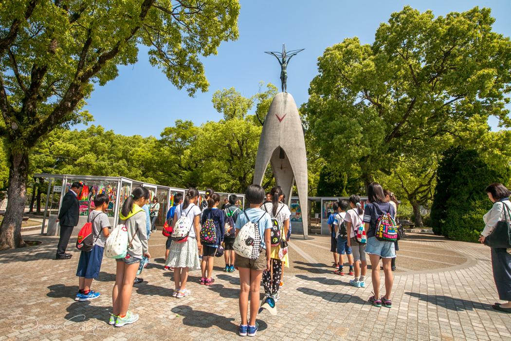 The Childrens Peace Monument Hiroshima, Japan