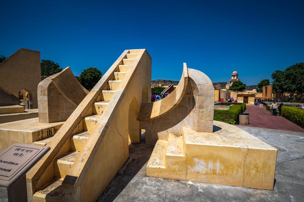 The Jantar Mantar astronomical Clocks Jaipur, India