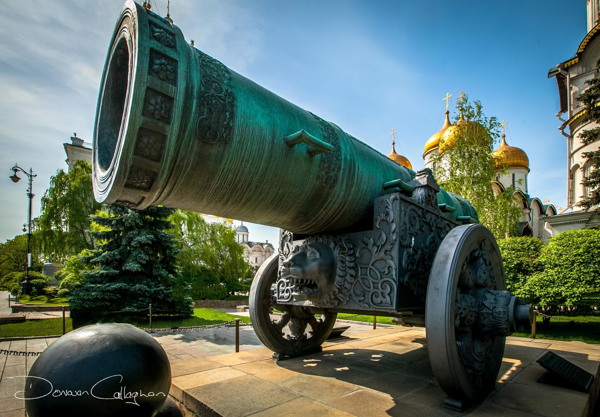 The Tsar Cannon Kremlin Moscow, Russian Federation