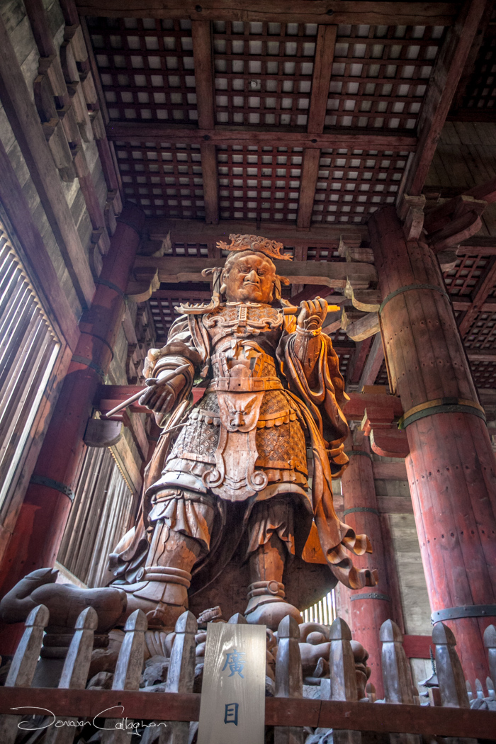 Todai-ji Temple Guardian Nara Japan, Japan