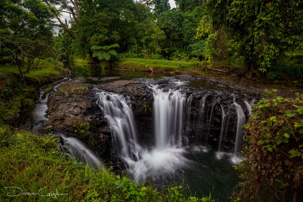 Togitogiga Waterfall O Le Pupu-Pue National Park, Samoa