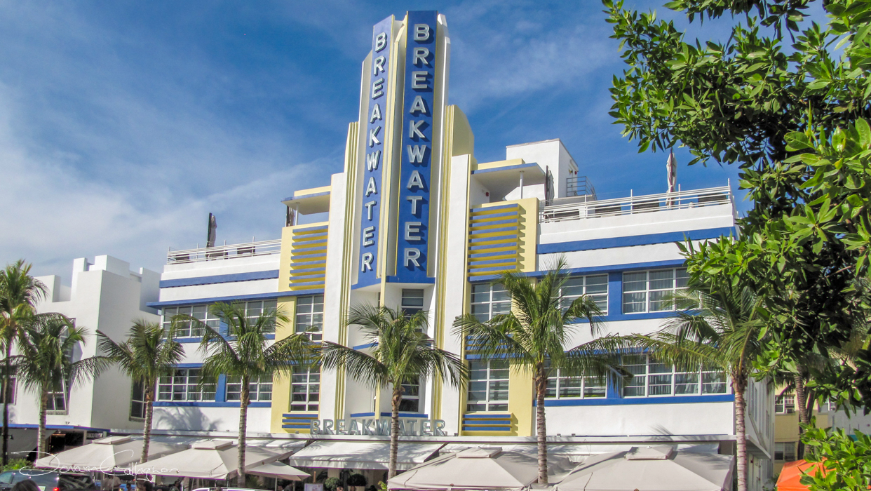 Breakwater Art Deco Hotel Miami Beach, USA