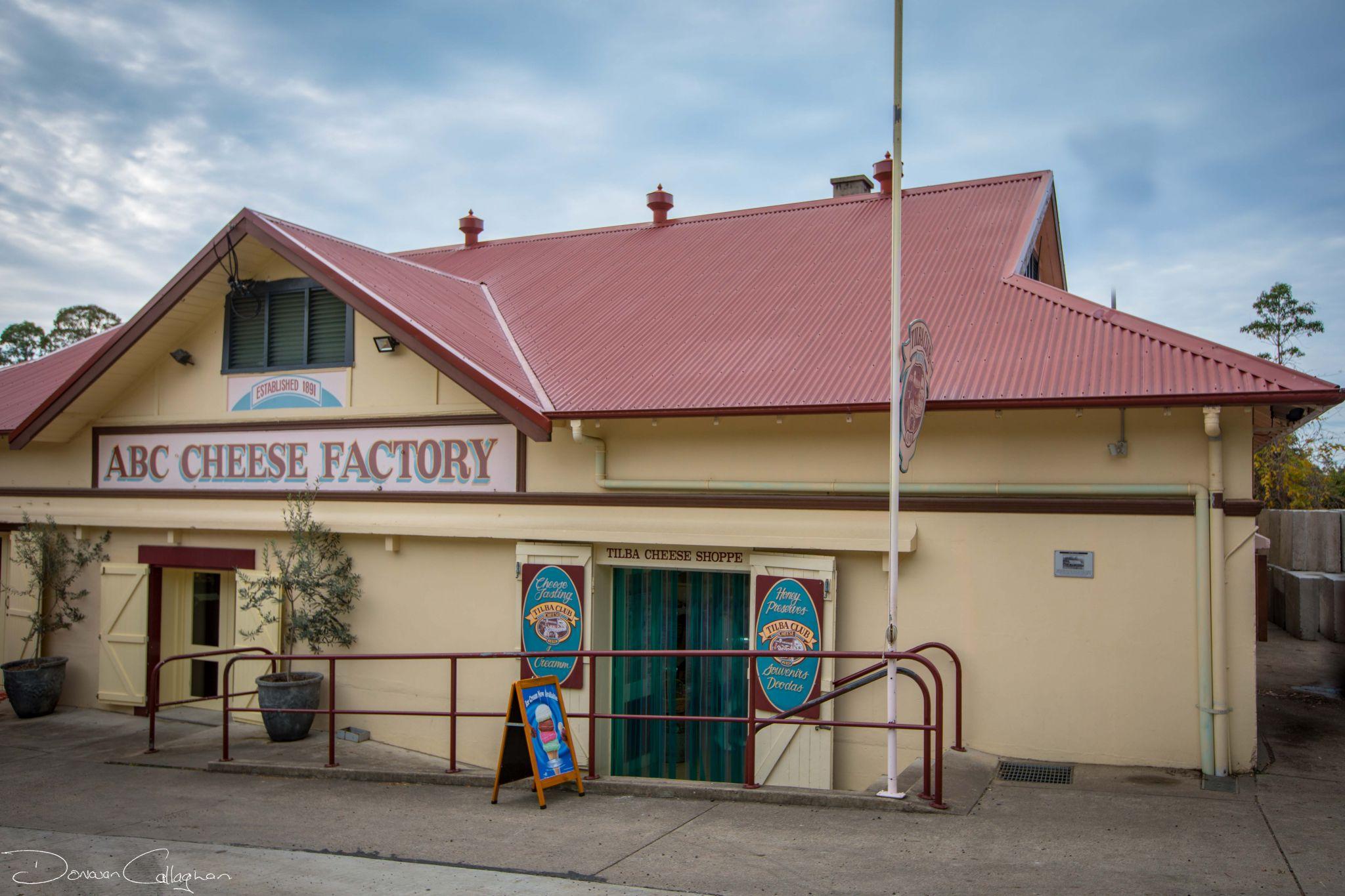Historic ABC Cheese Factory Central Tilba NSW, Australia