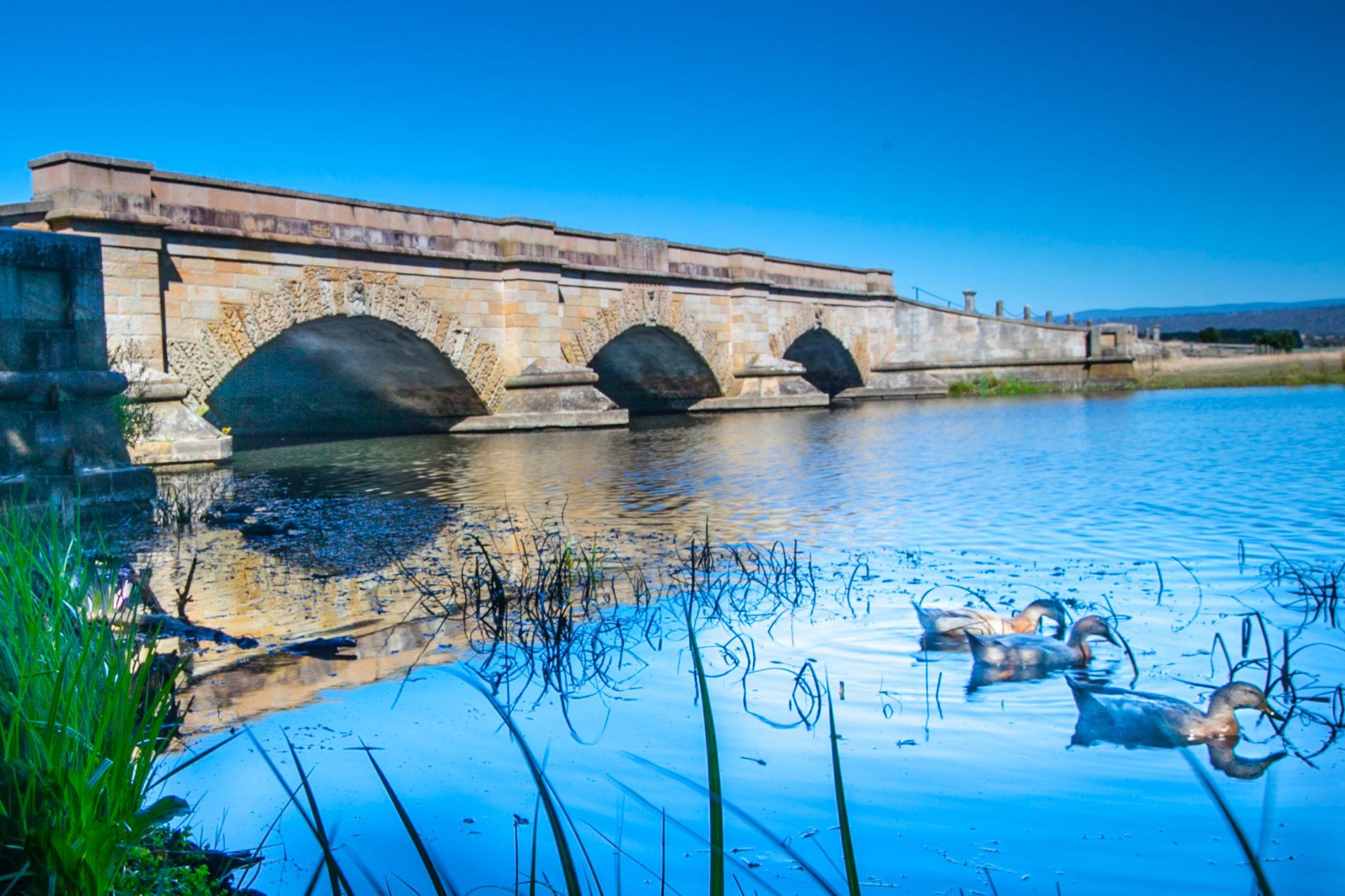 Historic Ross Bridge Tasmania, Australia