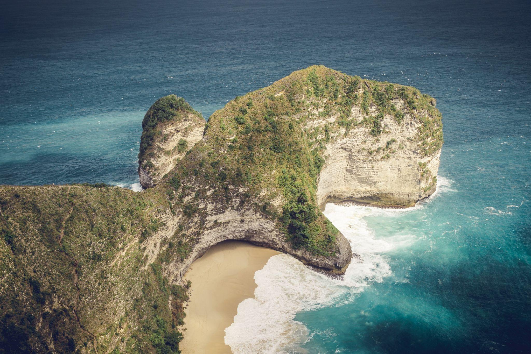 Kelingking Beach, Indonesia