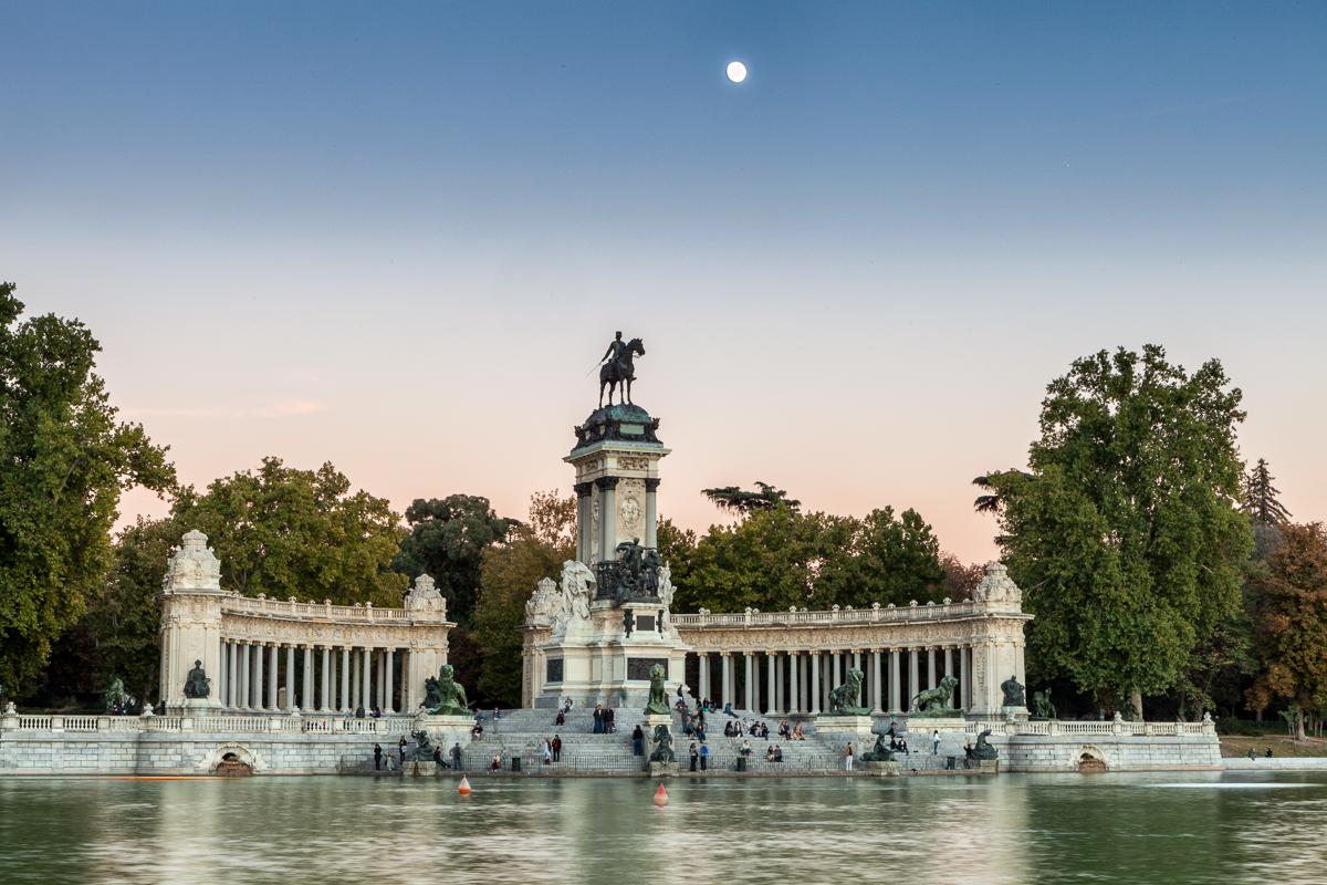 Madrid, Parque del Retiro, Spain