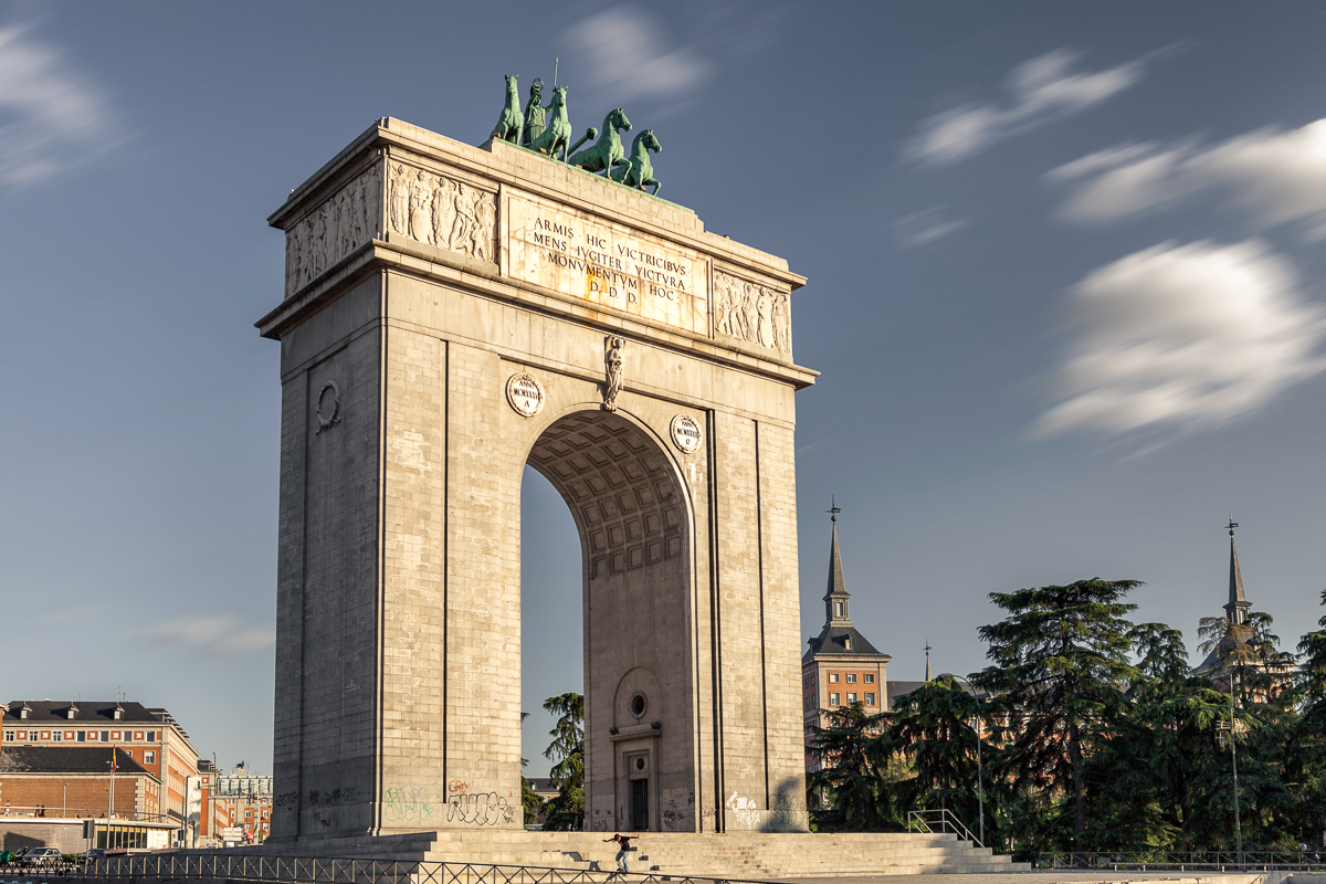 Madrid, Victory Arch, Spain