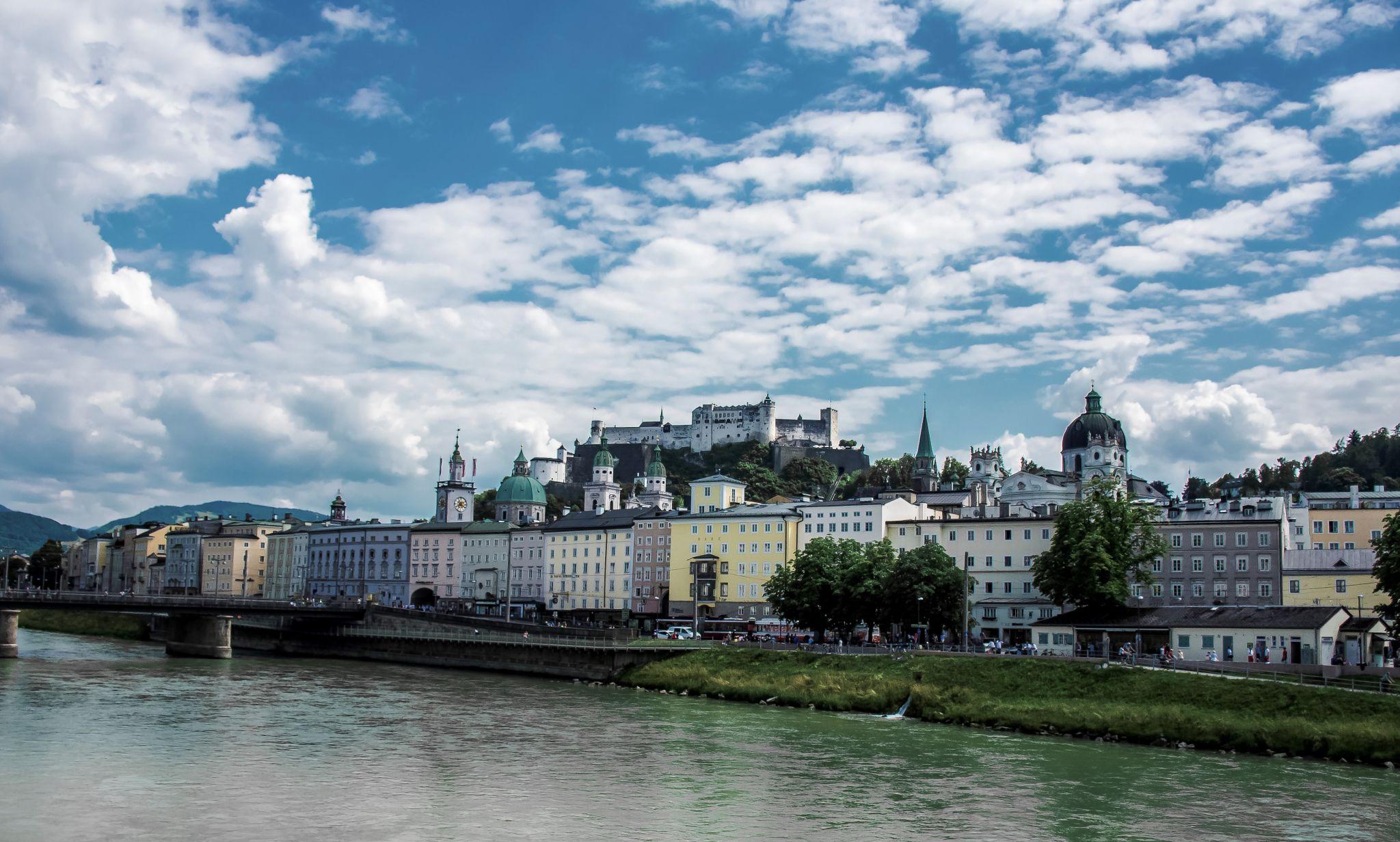 Salzburg, Old Town, Austria