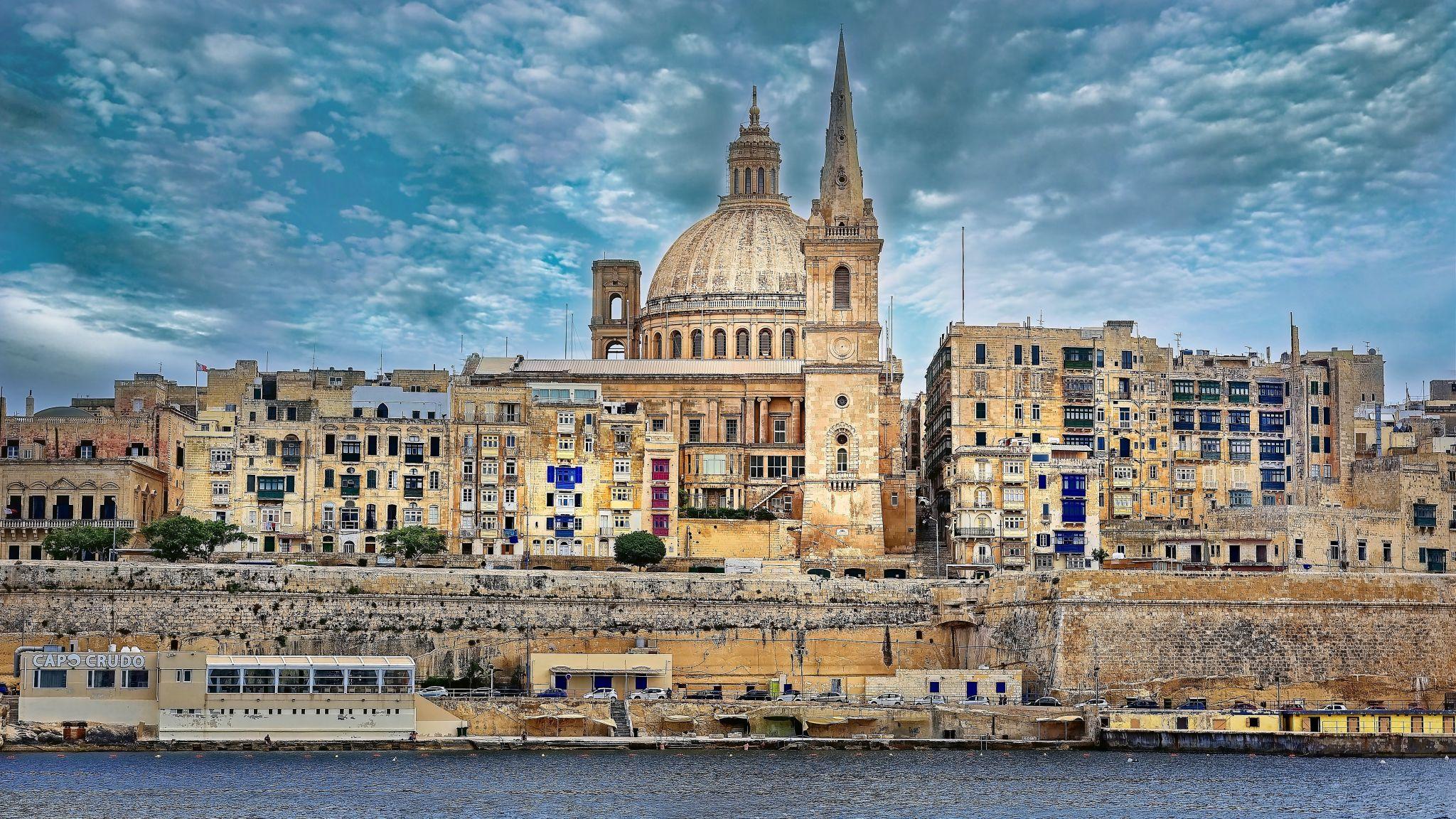 Seafront Valletta, Malta