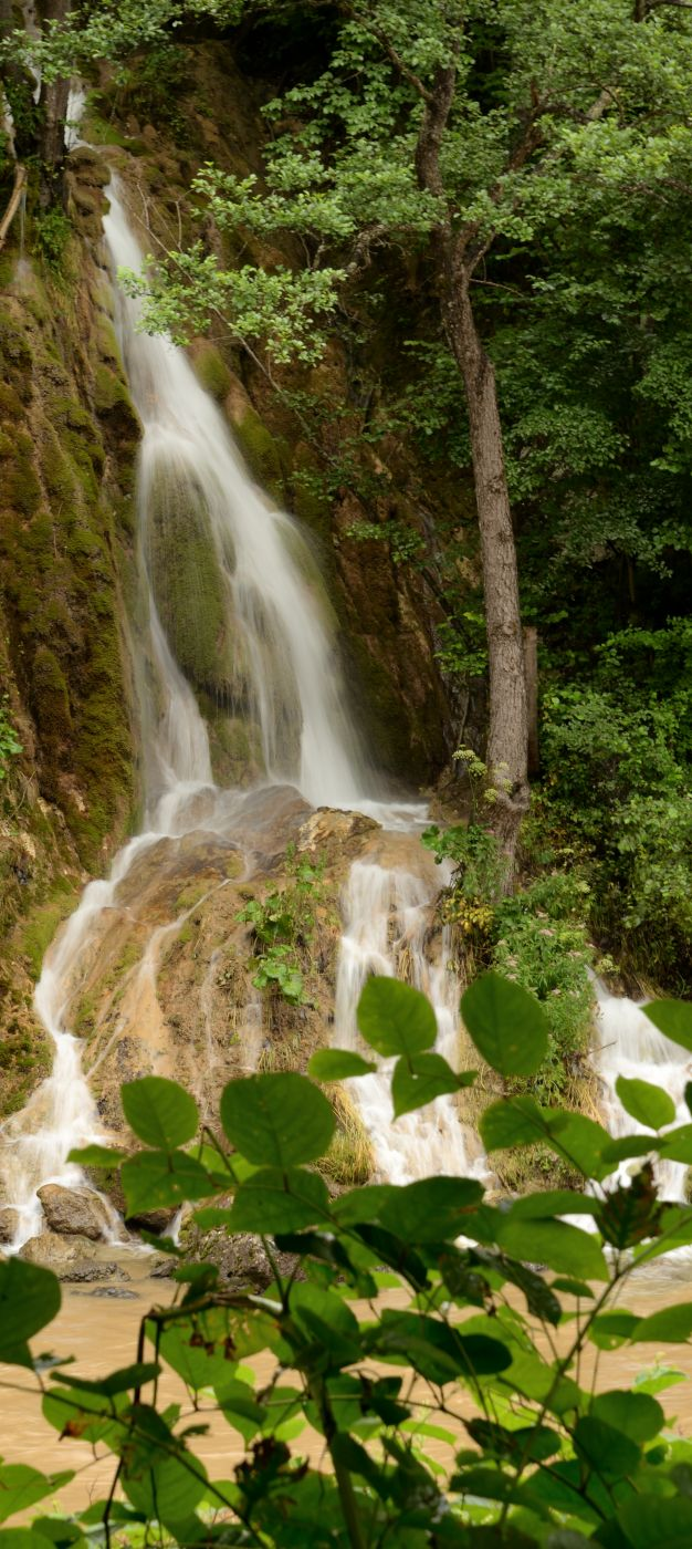 Sipote Waterfall on the Aries River, Romania